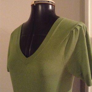 BCBG short sleeve, sweater dress